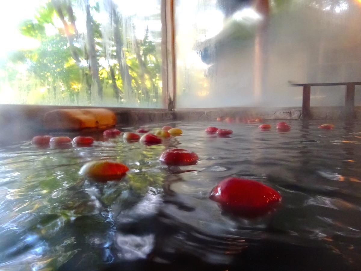 これが噂の「初恋りんご風呂」