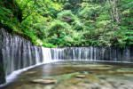 軽井沢『白糸の滝』プロジェクトマッピング!