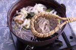 (日本語) あったか郷土料理『おにかけそば』を堪能